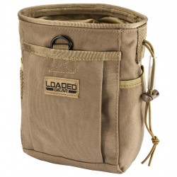 CX-700 Drawstring Dump Pouch, Dark Earth BARSKA-OPTICS