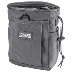CX-700 Drawstring Dump Pouch, Gray BARSKA-OPTICS