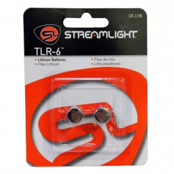 CR 1/3N Lithium Batteries - 2 pk - TLR-6 STREAMLIGHT