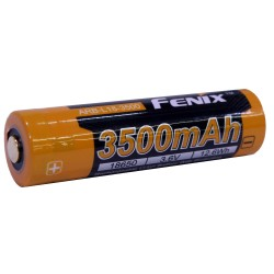 18650 (3.6V) 3500 mAh Recharge. Bat. FENIX-FLASHLIGHTS