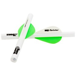 """Quikfletch 2"""" Twister-W/G/G (6 Pk) NEW-ARCHERY-PRODUCTS"""