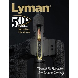 Lyman 50th Edition Reloading Book SC LYMAN