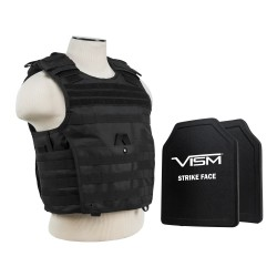 "Expert Carrier Vest/Two 10""X12""/Blk NCSTAR"