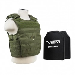 "Expert Carrier Vest/Two 10""X12""/Grn NCSTAR"