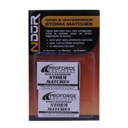 Ndur Storm Matches 2 Pack PROFORCE-EQUIPMENT