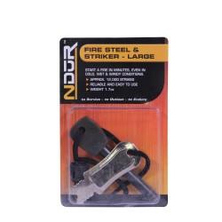 Ndur Large Fire Steel & Striker PROFORCE-EQUIPMENT