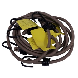Camcon HvyDty Bungee Cords Tan 4Pk PROFORCE-EQUIPMENT