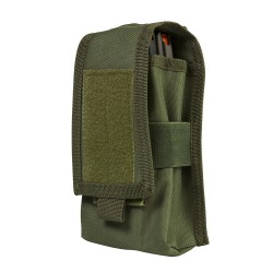 2 AR/Ak Magazine Or Radio Pouch - Green NCSTAR