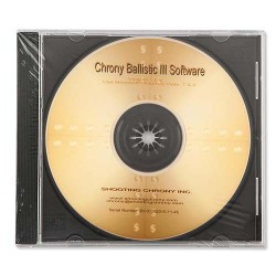 Chrony Ballistic III SOFTWARE CHRONY