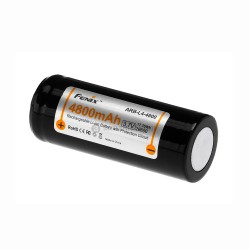 26650 (3.7V) 4800 mAh Recharge. Bat. FENIX-FLASHLIGHTS