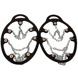 Chains Ice Trekkers, Black, Large YAKTRAX