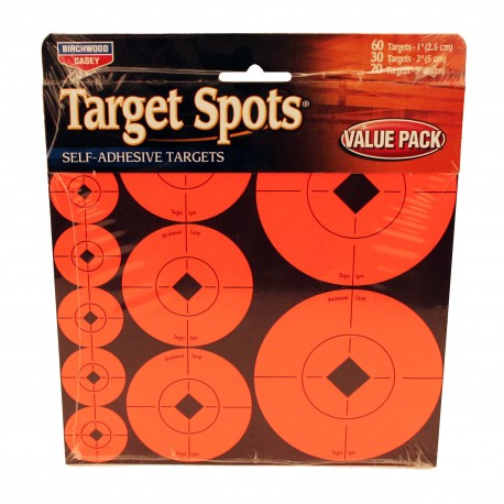 "1""2""3"" Target Spots Assortment BIRCHWOOD-CASEY"