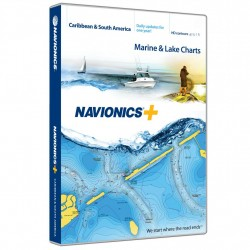 Navionics+ Caribbean & S. America NAVIONICS