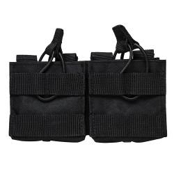 AR10/M1A/Fal .308 Dual Magazine Pouch-Blk NCSTAR