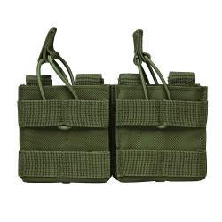 AR10/M1A/Fal .308 Dual Magazine Pouch-Grn NCSTAR