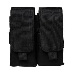 Vism AR15/M4/Ak Quad Magazine Pouch-Black NCSTAR