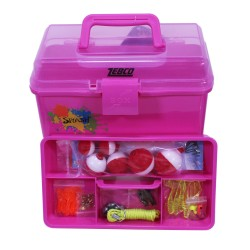 SPLASH TACKLE BOX ASST W/TACKLE ZEBCO-QUANTUM