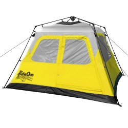 Basecamp Quick Pitch Tent Grey/Ylw 6p PAHAQUE