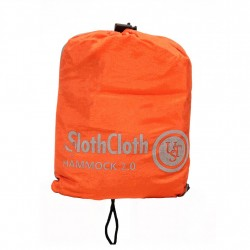 SlothCloth Hammock 2.0, Orange/Gray ULTIMATE-SURVIVAL-TECHNOLOGIES