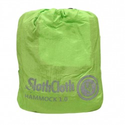 SlothCloth Hammock 1.0, Lime/Gray ULTIMATE-SURVIVAL-TECHNOLOGIES
