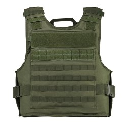 Vism Plate Carrier W/Ext Ha Pkts/2Xl+/Grn NCSTAR