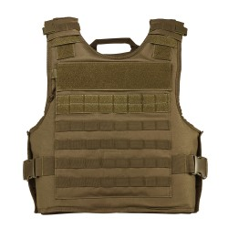 Vism Plate Carrier W/Ext Ha Pkts/2Xl+/Tan NCSTAR