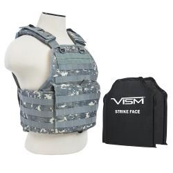 "Plate Carrier Vest, 2 10""X12""/Digtal Camo NCSTAR"