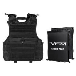 """Epc Vest,2 8""""X10""""Rctngl Cut Sbp/Blk/XS-S NCSTAR"""