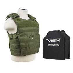 """Epc Vest,2 8""""X10"""" Rctngl Cut Sbp/Grn/XS-S NCSTAR"""