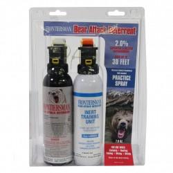 7.9 oz Bear Spray + 7.9 oz Practice SABRE
