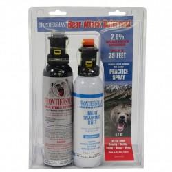 9.2 oz Bear Spray + 7.9 oz Practice SABRE