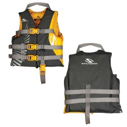 PFD 5972 CHILD ANTIMICRO GOLD STEARNS
