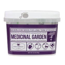 Medicinal Heirloom Seed Bucket WISE-FOODS
