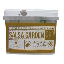 Salsa Heirloom Seed Bucket WISE-FOODS