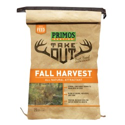 Take Out Fall Harvest 25Lb Bag PRIMOS-HUNTING