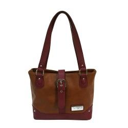 VISM Concealed Carry  Shoulder Bag- Brown NCSTAR