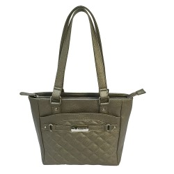 Concealed Carry Quilted Tote- Urban Gray NCSTAR
