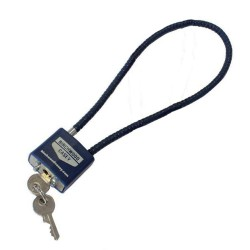 SafeLock Cable Lock Blue Birchwood Casey BIRCHWOOD-CASEY