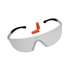 Lycus Shooting Glasses with Plugs BIRCHWOOD-CASEY