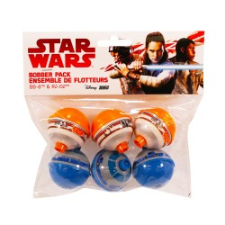 Starwars 6pc Bobber Set ZEBCO-QUANTUM