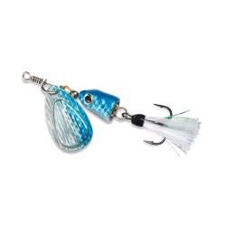 Vibrax Shallow Spinner 7/64  Blue Shad BLUE-FOX