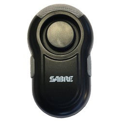 Personal Alarm with LED Light - Black SABRE