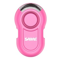 Personal Alarm with LED Light - Pink SABRE