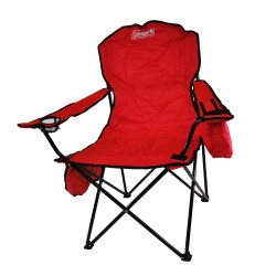 Chair Quad Cooler Red C006 COLEMAN