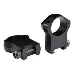 Warne Mntain Tech 30mm,Ultra Hi Mat Rings WARNE-SCOPE-MOUNTS