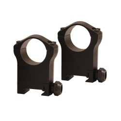 "Warne Mntain Tech 1"",Ultra High Mat Rings WARNE-SCOPE-MOUNTS"