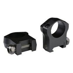 "Warne Mountain Tech 1"",High Matte Rings WARNE-SCOPE-MOUNTS"