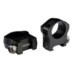 "Warne Mountain Tech 1"",Medium Matte Rings WARNE-SCOPE-MOUNTS"