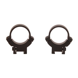 Warne 1 inch, 7.3/22, Med Matte Rings WARNE-SCOPE-MOUNTS