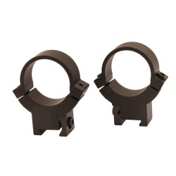Warne 1 inch, 7.3/22, High Matte Rings WARNE-SCOPE-MOUNTS